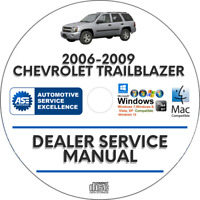Chevrolet Trailblazer 2006-2009 Factory Service Repair Manual Chevy