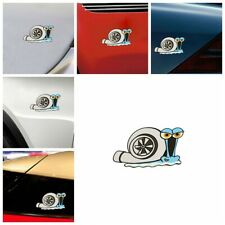 Turbo Snail Funny Car Stickers Styling Bumper Window Trunk Decals Auto Decors