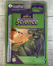 NEW LeapFrog LeapPad LEAP 3 Science The World of Dinosaurs Book & Cartridge
