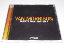 Van Morrison : Born To Sing ADVANCE CD Rare