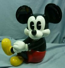 """Disney Large Mickey Mouse Porcelain Figurine 11"""" Tall Sitting 20A011"""