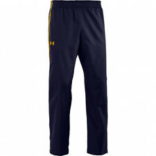 Under Armour Mens athletic pants NWT XL mens' $50 Midnight Navy/Steeltown Gold