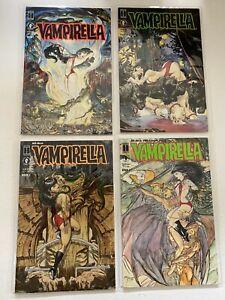 Vampirella Morning in America set #1-4 Dark Horse 4 pieces 6.0 FN (1991 to 1992)