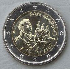 2 Euro Kursmünze San Marino 2017 unz
