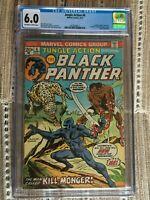 Jungle Action #6 CGC 6.0 1st Appearance Erik Killmonger, 1st solo Black Panther