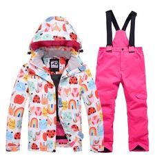 Ski Suit Windproof Waterproof Snow Set Winter Skiing Snowboarding Jacket Pants