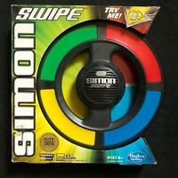 New SIMON SWIPE 4 Games 16 LEVELS NIB AGES 8 + HASBRO NIB New in Box