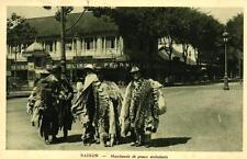 COCHINCHINE - SAIGON - Marchants de peaux ambulants