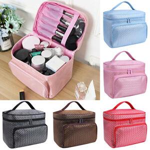 Women Nail Varnish Storage Bag Case Handbag Organiser Cosmetic Make Up Bags!