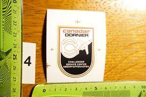 Alter Aufkleber Militär Luftfahrt CANADAIR DORNIER Challenger Oberpfaffenhofen