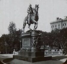 Monument of Guillaume I, Magic Lantern Glass Slide