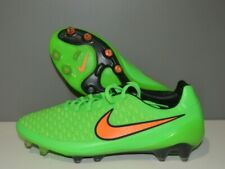 New listing Nike Magista Opus FG 649230-380 Green Orange Soccer Cleats Boots Size 9.5 w/ bag