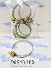FASCETTA TUBO 25-40 mm giallo zincati appositamente per Oldtimer