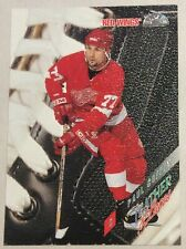 1996-97 PAUL COFFEY LEAF LEATHER AND LACES INSERT #4 RED WINGS #2024/5000