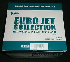 F-Toys 1/144 Workshop VOL. 17 - Euro Jet Collection - CASE LOT - NEW SEALED