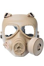 Yellow Paintball Airsoft Full Face Protection Gas Mask Cosplay A693