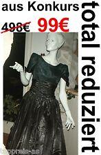 Robe de Mariée Bal 38 40 42 Noir Gothique Déguisement Carnaval Princesse