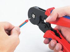HSC8 6-4A 0.25-6mm2 Terminal Crimping Tool Mini Pliers Wire end Cord lug fasen