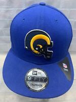 Los Angeles RAMS Football NFL New Era Snapback Adult Cap Hat