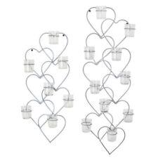 Große Deko-Kerzenständer & -Teelichthalter mit Herz-Form fürs Wohnzimmer