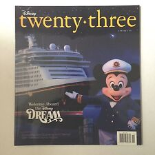 D23 Disney twenty three magazine Spring 2011 Fan Cruise Line DREAM Voice Actors