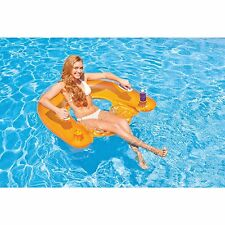 Cooler Floating Float Inflatable Pool Raft Swimming Lake River Tube Lounge Party
