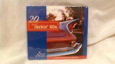 20 Best Rockin' 60s Sound Sensation Various Artists NEW 2004 Madacy       cd4477