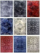 Traditional Rug Classic Timeless Vintage Oriental Design Faded Distressed