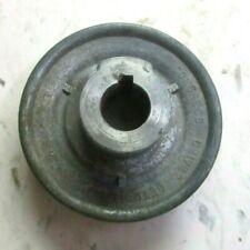 Congress 3a Detroit Usa Cast Zinc Pulley 12 Belt Width 58 Bore Od 3 Vintage