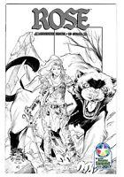 Image Comics Rose # 1 Variant Cover C2E2 Diamond Retailer Summit 2017 Exclusive