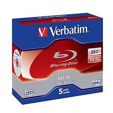 Verbatim Bd-re SL 25gb 1x-2x joyero