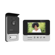 "Philips AKTION WelcomeEye COMPACT Video Tür Sprechanlage Türklingel 4.3"" Display"