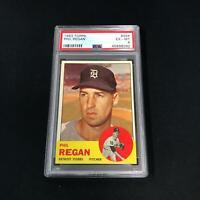 1963 Topps #494 PHIL REGAN PSA 6 Chicago White Sox *SC4-092