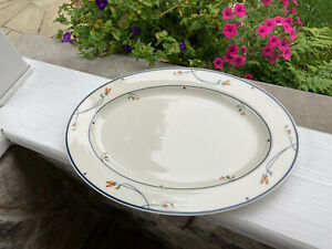 "Gorham ARIANA 14"" Platter Town & Country fine china collection. New Without Box."