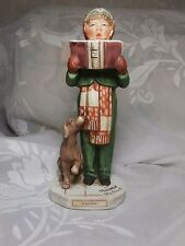 "Vintage 1973 Norman Rockwell Saturday Evening Post ""Carroler"" Figurine Grossman"