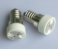 LED Halogen Light Bulb Lamp Adapter E14-GU53 G4 GU4 SES to MR16 MR11 Socket Fit