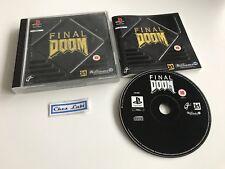 Final Doom - Sony PlayStation PS1 - PAL EUR - Avec Notice