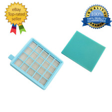 1pcs HEPA Filter & Filter Cotton for Philips FC8470 FC8471 FC8632 FC8630 FC8634