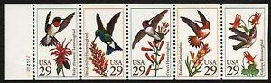 #2646a 29c Hummingbirds, Bklt Pane-Unfolded [A2212122] **ANY 5=FREE SHIPPING**
