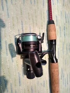 Bass Outdoor America Spinning Rod & Shimano R2000 Reel Combo Excellent
