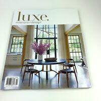 Luxe Interiors + Design September October 2019 Magazine New