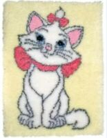DIY Disney's the Aristocats Marie Make a Latch Hook Rug Unique Christmas Gift UK