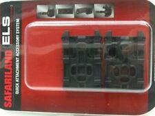 Safariland ELS-KIT1-2 Black Equipment Locking Kit w/ ELS 35 Plate & ELS 34 Fork