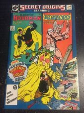 Secret Origins#16 Incredible Condition 9.2(1987) Warlord,Hourman,'Mazing Man,
