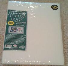 Pioneer Photo Album JUMBO FTM15 Scrapbook 12x15 WHITE