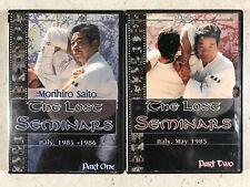 Morihiro Saito The Lost Seminars Akido Marshal Arts DVD