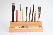 WoodBi | Kosmetik Organizer aus Holz | MakeUp Aufbewahrung Präsentation Ständer