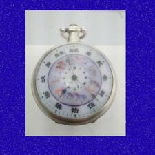 Rare Silver Chinese Market Quing Astronomical Calendar Bovet Pocket Watch 1840