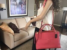 NEW COACH BOROUGH PEBBLED LEATHER SHOULDER BAG CARRYALL SATCHEL RARE 28160 $598