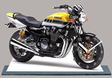 MOTO, YAMAHA 1200 XJR ROBERTS EDITION, EN HORLOGE MINIATURE-12